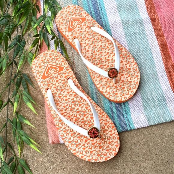 Roxy Printed Flip Flops